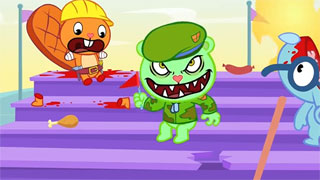 Изображение Happy Tree Friends - By The Seat Of Your Pants