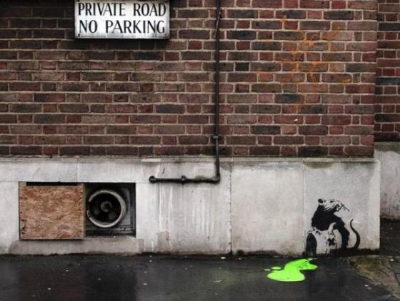 Крутые граффити Роберта Бенкси (70 фото)
