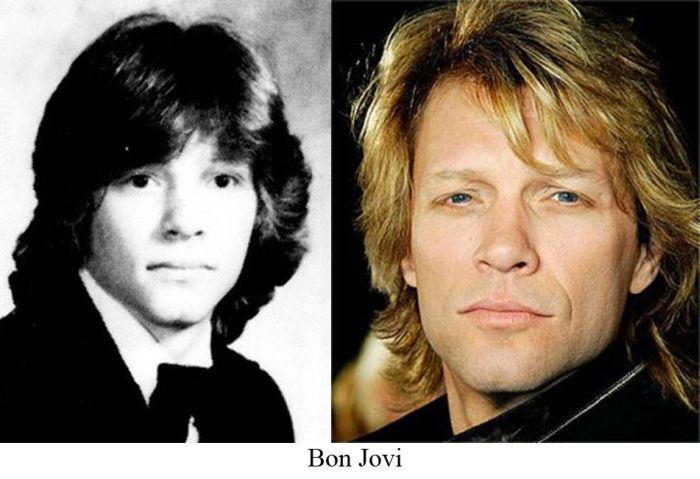 Знаменитости тогда и сейчас (31 фото)