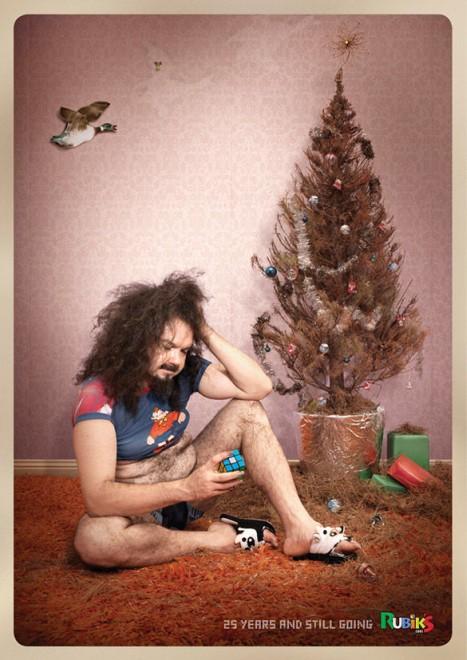 Смешная реклама. Рекламные постеры и кампании 2011 (50 шт)