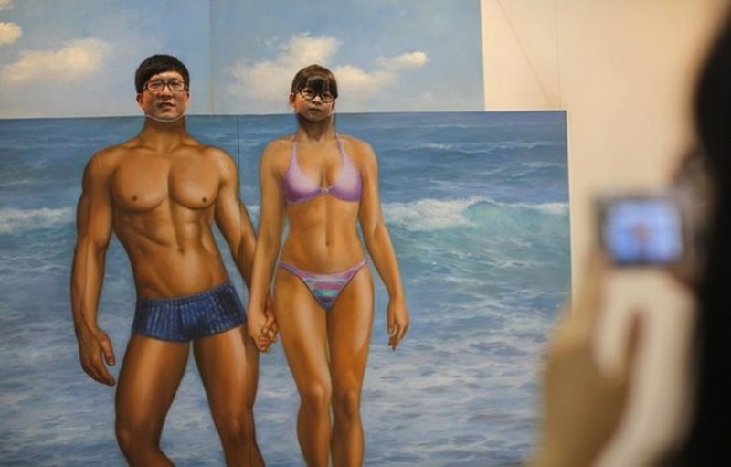 3D картины с выставки Magic Art Special Exhibition 2012 (36 фото)