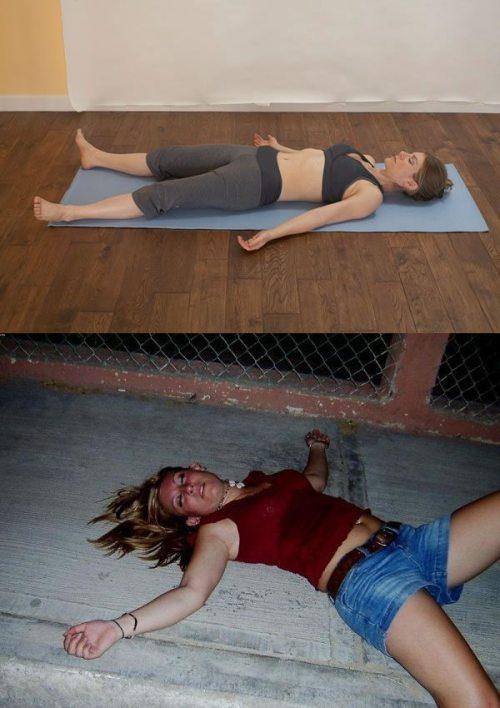 Йога покоряется алкоголю