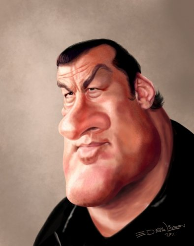 Карикатуры на знаменитостей от Ed van der Linden (15 фото)